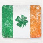 Irish Flag Mouse Pad