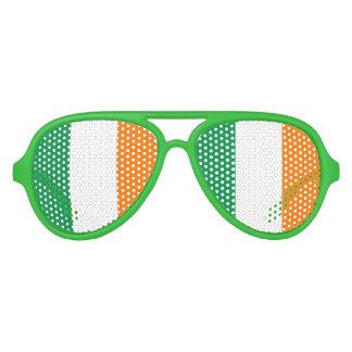 Irish flag party shades for St Patricks Day fun