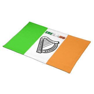 Irish flag placemat