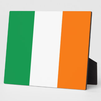 Irish Flag Plaque