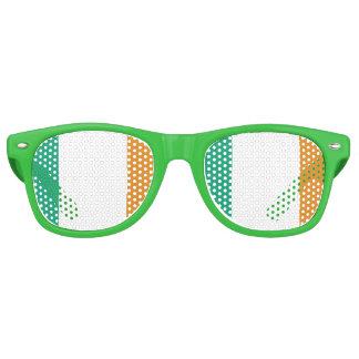 Irish Flag Retro Sunglasses