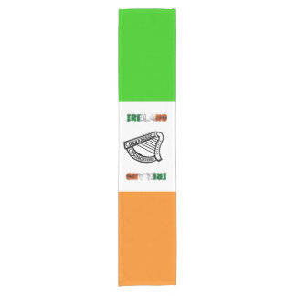 Irish flag short table runner