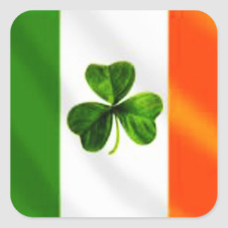 Irish Flag Square Sticker