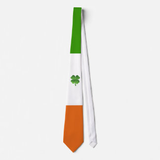 Irish flag tie