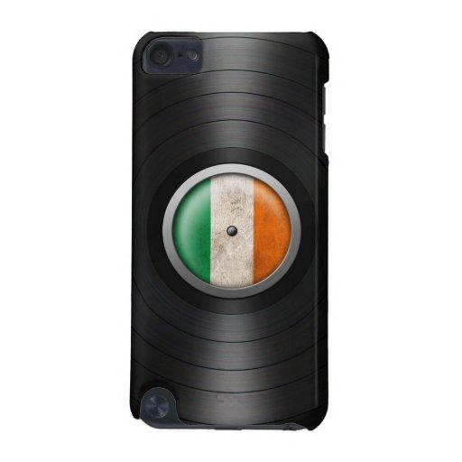 Irish Flag Vinyl Record Album Graphic iPod Touch (5th Generation) Cases