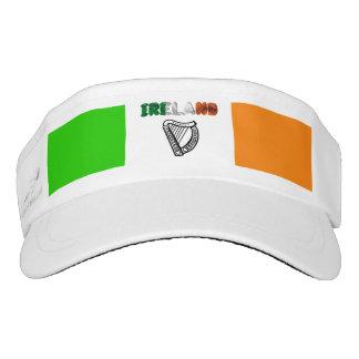 Irish flag visor