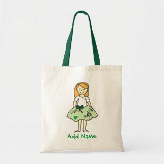 Irish Flower Girl Tote Bag