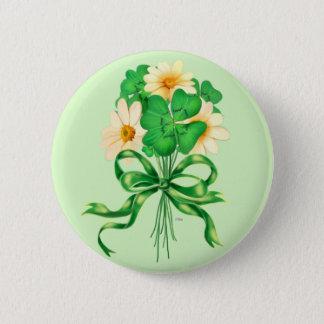 IRISH FLOWERS Standard, 2¼ Inch 6 Cm Round Badge