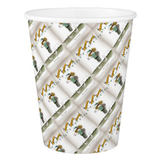 irish football captain paper cup