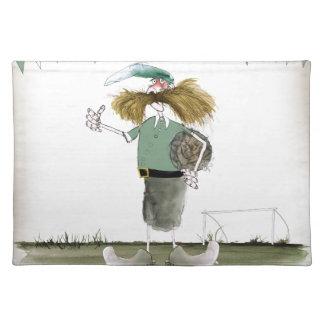 irish football captain placemat