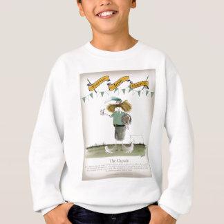 irish football captain sweatshirt
