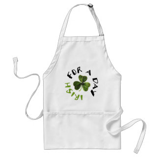 Irish for a day cool products! apron