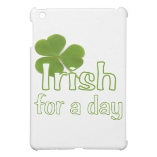 Irish for a day iPad mini cover