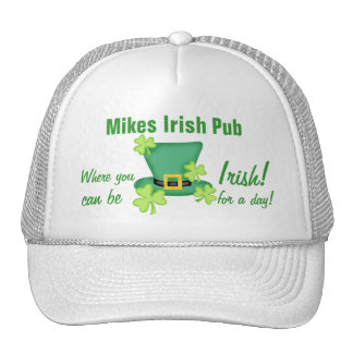 Irish for a Day St. Patrick's Day Business Promote Cap