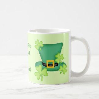 Irish for a Day St. Patrick's Personalized Basic White Mug