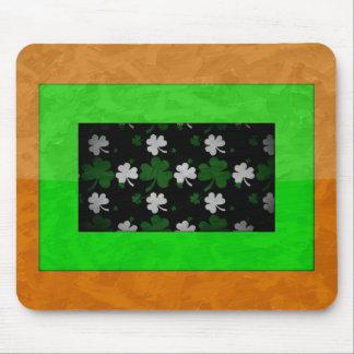 Irish Framed Shamrock Mouse-mat Mouse Pad