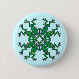 Irish frogs sychronised swim team 6 cm round badge