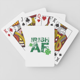 Irish Funny St Patrick's Day Men Women Playing Cards