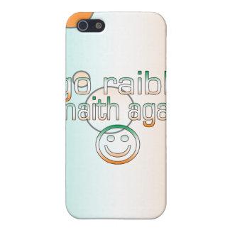 Irish Gaelic Gifts Thank You / Go Raibh Maith Agat iPhone 5 Case