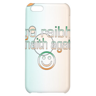 Irish Gaelic Gifts Thank You / Go Raibh Maith Agat iPhone 5C Cases