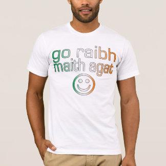 Irish Gaelic Gifts Thank You / Go Raibh Maith Agat T-Shirt