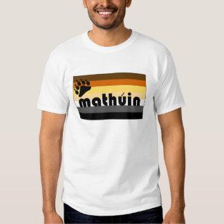 Irish Gaelic (Mathúin) Gay Bear Pride Flag Shirts