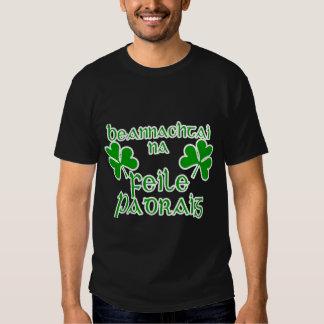 Irish Gaelic St. Patrick's Day Shirt. Tees