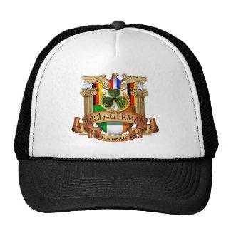 Irish German All-American Mesh Hats