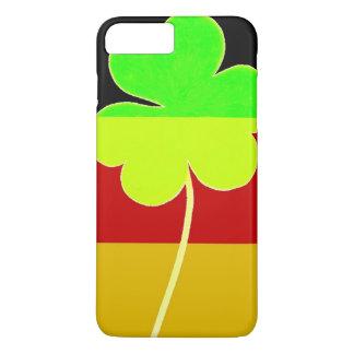 Irish German Flag Shamrock Clover St. Patrick Fun iPhone 8 Plus/7 Plus Case
