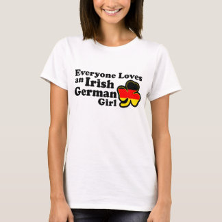 Irish German Girl T-Shirt