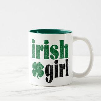 Irish Girl Coffee Mugs