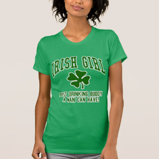 Irish Girl: Drinking Buddy Tshirt