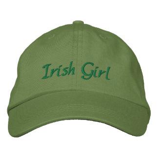 Irish Girl Embroidered Hat
