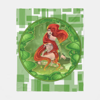 Irish Girl Fleece Blanket