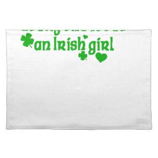 IRISH girl g Placemat