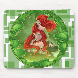 Irish Girl Mouse Pad