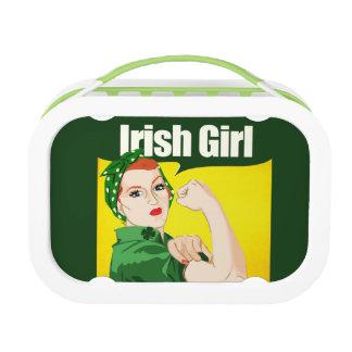 Irish Girl Vintage Rosie Riveter Lunchboxes