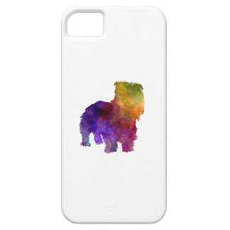 Irish Glen of Imaal Terrier in watercolor Barely There iPhone 5 Case