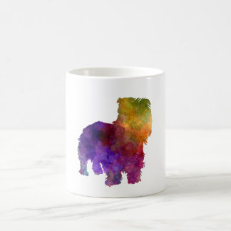 Irish Glen of Imaal Terrier in watercolor Coffee Mug