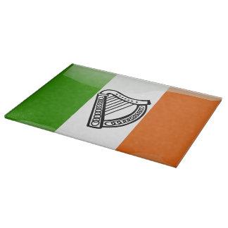 Irish glossy flag cutting board
