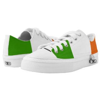 Irish glossy flag low tops