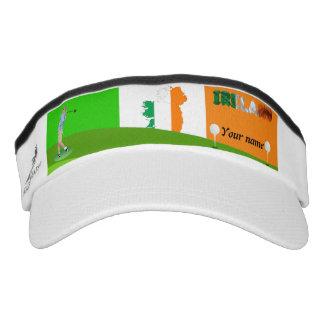 Irish golfer visor
