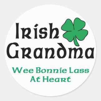Irish Grandma Gift Sticker