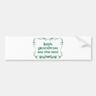 Irish Grandma T-shirt Bumper Stickers