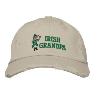 Irish Grandpa Embroidered Hat