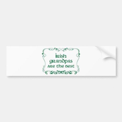 Irish Grandpa T-shirt Bumper Stickers