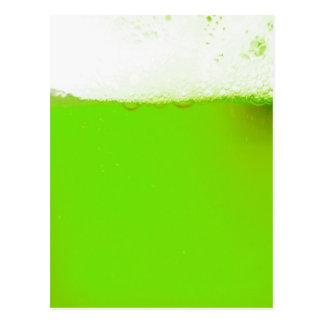 Irish Green Beer Postcard