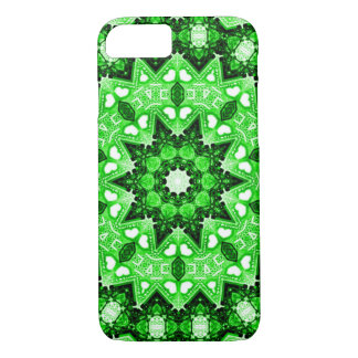 Irish Green Fractal iPhone 7 Case