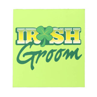Irish Groom from Awesome Irish Notepad