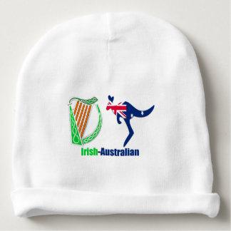Irish Harp-Australia flag Baby-Cotton-Beanie Baby Beanie